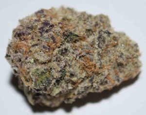 Purple Punch is the sweet and sedating union of two indica-dominant classics. By breeding Larry OG with Granddaddy Purple, the astonishing trichome laden Purple Punch was born, smelling of grape candy, blueberry muffins, and tart Kool-Aid. The potency of this strain gives the consumer a one-two punch to the head and body, initially landing between the eyes and settling down into the limbs. Purple Punch is a delicious dessert strain that is best suited for after dinner. Its effects may help with managing nausea, stress, minor body aches, and sleeplessness.